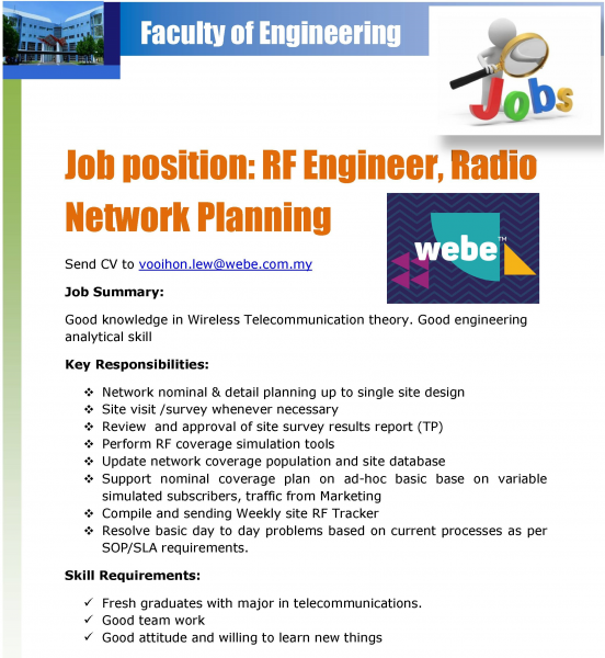 Wireless Engineer Sample Resume: Resume Objectives Rf Wireless Engineer